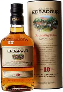 Edradour 10 Year Old Single Malt Scotch Whisky, 70 cl £33.94 @ Amazon Prime NOW (Glasgow)