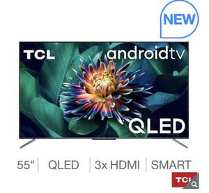 TCL 55C715K 55 Inch QLED 4K Ultra HD Smart Android TV £549.99 @ Costco