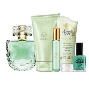 Eve truth fragrance and beauty set £18 delivered @ Avon