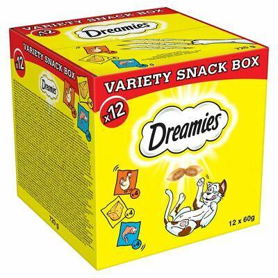 12x Dreamies Variety Cat Treats Box £10.19 @ marspetcare_store Ebay
