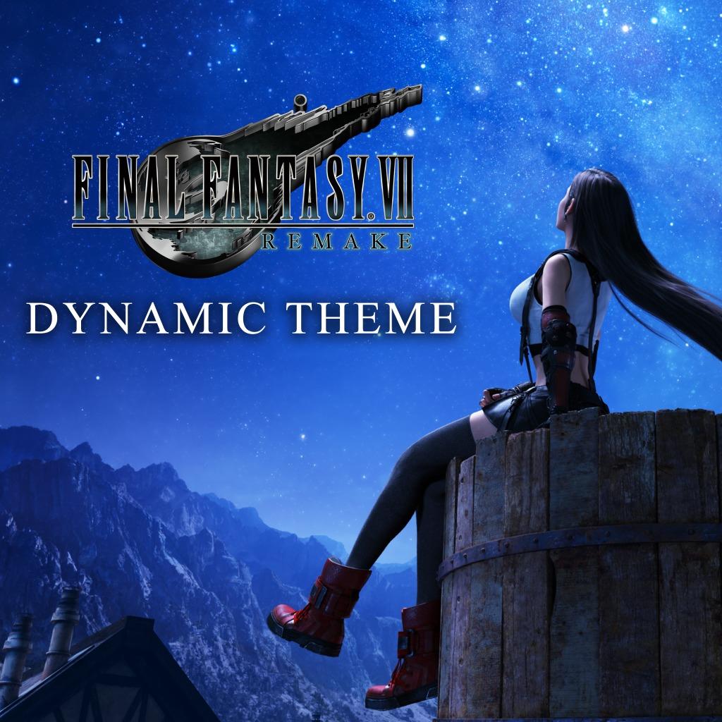 Free PS4 theme - FINAL FANTASY VII REMAKE Tifa Theme