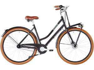 Ortler Miss Liz women glossy black grey city bike (2020) for £468.99 includong delivery @ Bikester