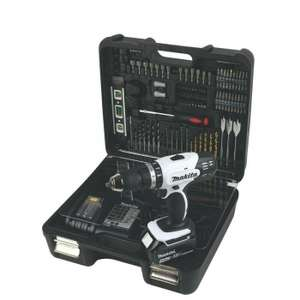 Makita DHP453SMWX 18v Combi Drill With 1 x 4.0Ah Battery & 101 Pcs Accessory Set £124.99 delivered @ Power tool mate