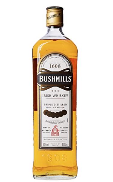 Bushmills Original Irish Whiskey 1 litre £22.95 at Amazon