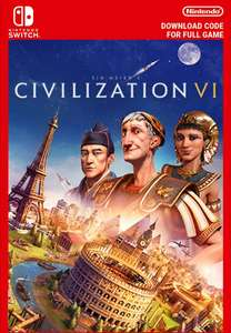 Sid Meier's Civilization VI (Switch Download Code) £13.23 with code @ Games-Federation via Eneba