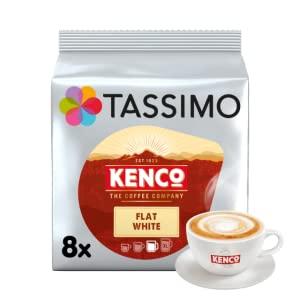 Tassimo Kenco Flat White Coffee Pods Pack of 5 £14.21 prime / +£4.49 Non Prime at Amazon