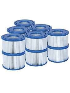 Lay-Z-Spa Hot Tub Filter Cartridge VI for All Lay-Z-Spa Models - 6 x Twin Pack (12 Filters) - £27 @ Amazon