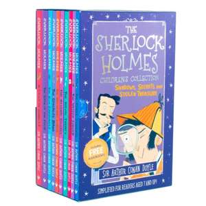 Sherlock Holmes Children's Collection 10 Books Box Set £12.45 delivered with code @ Books2door