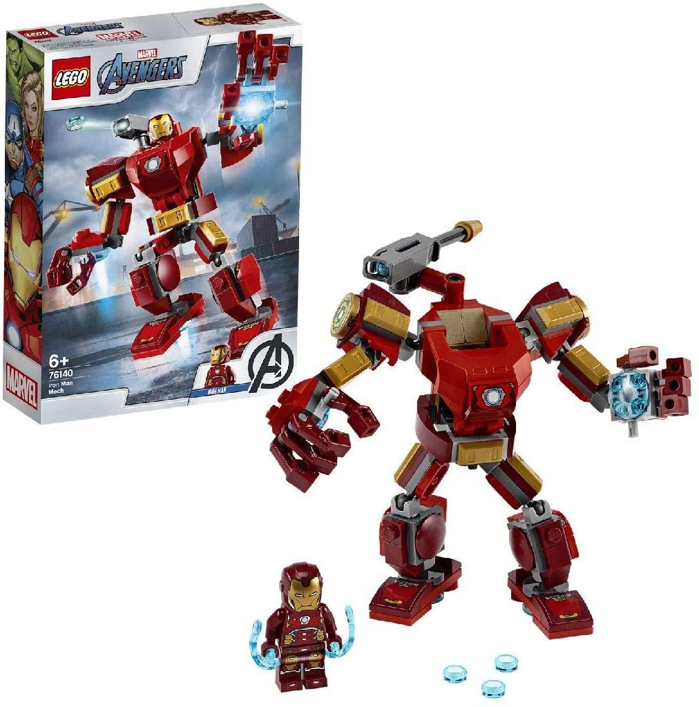 LEGO 76140 Super Heroes Marvel Avengers Iron Man Mech Playset, Battle Action Figure - £7.20 (Prime) £11.69 (Non Prime) @ Amazon