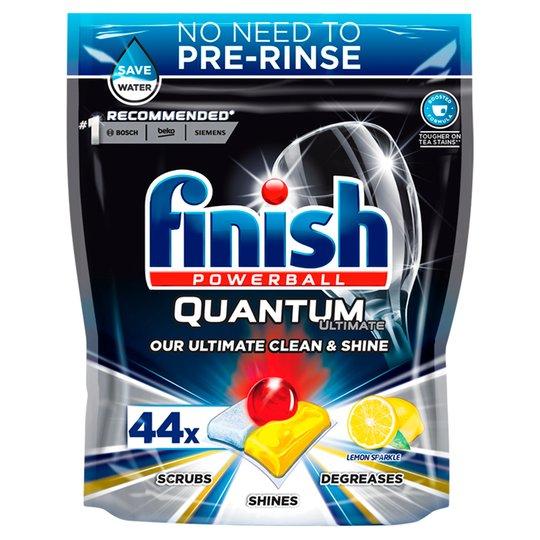 Finish Quantum Ultimate Dishwasher Tablets Lemon Scent, 44 Tablets £6 @ Tesco