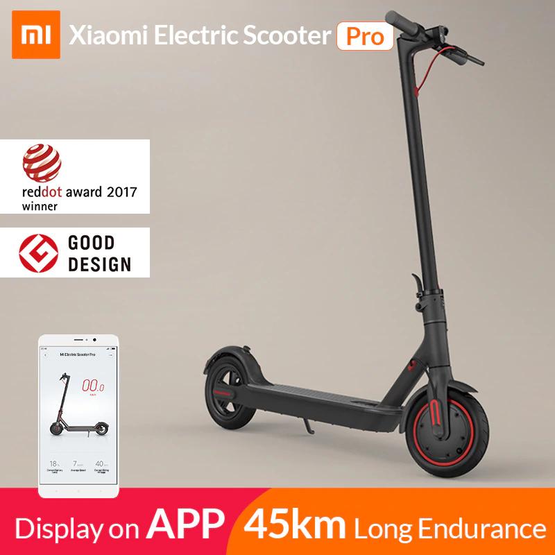 Xiaomi Mi Electric Scooter Mijia M365 Pro (EU Shipping)- £391 at Aliexpress (with fee free card) at AliExpress Xiaomi MC Store