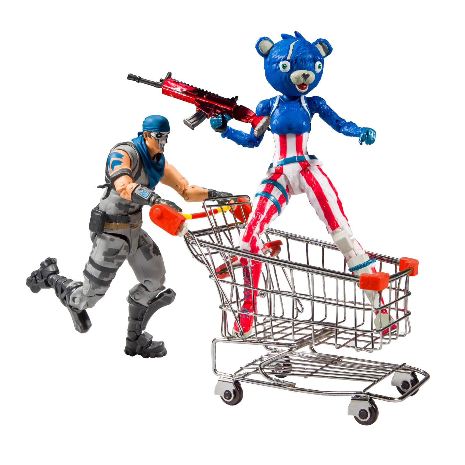 Fortnite Shopping Cart Pack With War Paint and Fireworks Team Leader - £19.98 Delivered @ Zavvi