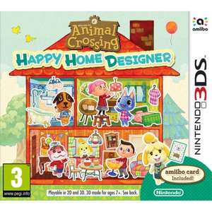 Animal Crossing: Happy Home Designer 3DS £9.95 delivered at The Game Collection