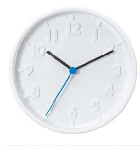 Stomma Wall Clock White £2 + £3.95 delivery at IKEA