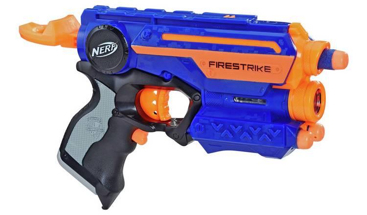 Nerf N-Strike Firestrike Blaster £5.99 @ Amazon Prime / £10.48 Non Prime