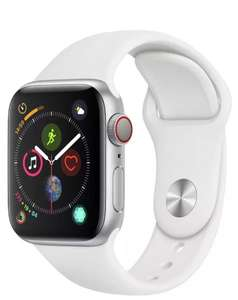 Apple Watch S4 Cell 40mm - Silver Alu / White Sport Band £349 + £3.95 del at Argos