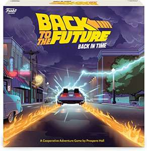 Back To The Future: Back In Time board game £23.95 Pre-order @ Amazon
