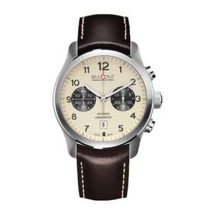 Bremont ALT1-C Cream Dial Mens Watch ALT1-C/CR £3595.50 @ Chisholm Hunter