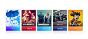 Sky TV & Movies for £22 (returning customers only) - 12 Month Deal - Total Cost: £264
