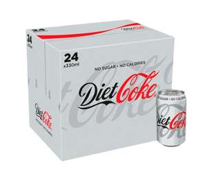 Diet Coke 24 pack online £7, instore £6.79 / NHS staff 20% off - £5.43 The Food Warehouse in Bolton