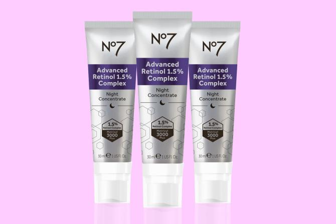 No7 Advanced Retinol 1.5% Complex Night Cream 30ML £25 or 3 for £50 @ Boots Online