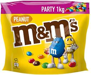M&M's Peanut Chocolate Party Bag 1 kg £6 (£5.70 with S&S / + £4.49 NP) at Amazon