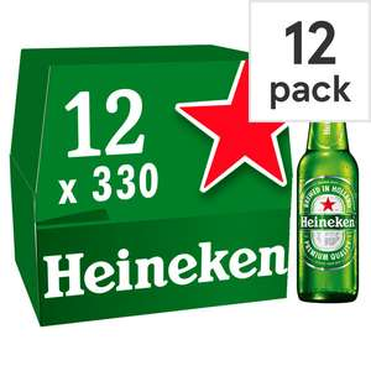 Heineken 12X330ml Bottles £7 @ Tesco