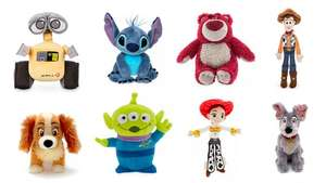 Disney Character Mini Bean Bags (25 characters in offer) 2 for £15 / 3 for £20 / 4 for £25 @ ShopDisney (+£3.95 delivery)