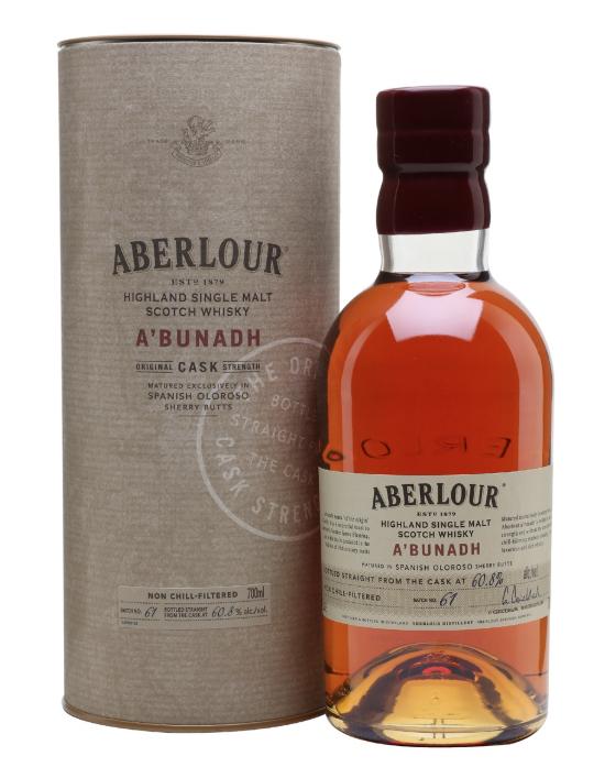 Aberlour A'Bunadh Batch 63 70cl, 61% ABV £57.95 delivered @ Master of malt