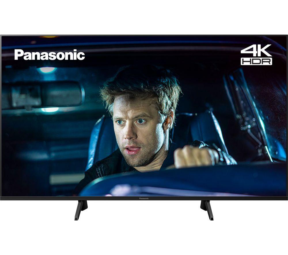 Reburbished Panasonic TX-50GX700B 50 Inch SMART 4K Ultra HD HDR LED TV Freeview Play 1 year warranty £239.99 with code at Panasonic on eBay
