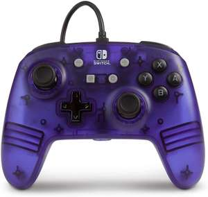 PowerA Enhanced Wired Controller For Nintendo Switch - Purple Frost £7.99 Amazon Prime / £12.49 Non Prime