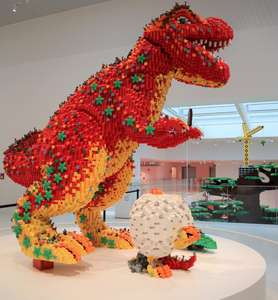 FREE virtual tours of the LEGO house basement, sign up needed