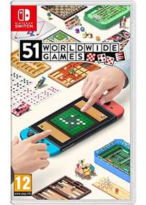 51 Worldwide Games (physical) for Nintendo Switch - £31.85 at Base.com