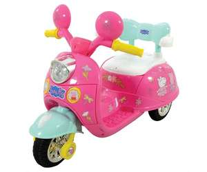 Peppa Pig 6V Battery Operated Motorbike Ride On £74.99 delivered with code @ Bargain Max