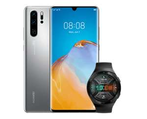 Huawei P30 Pro New Edition 256GB 8GB Silver Frost smartphone + Free Huawei Watch GT 2e - £559 + £10 Top Up @ Vodafone