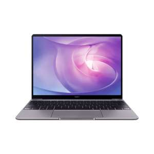 HUAWEI MateBook 13 AMD Ryzen 5, 8GB RAM, Space Gray, 256GB plus free MediaPad T3 10 £649.99 @ Huawei Store (Possible £32.50 cashback)