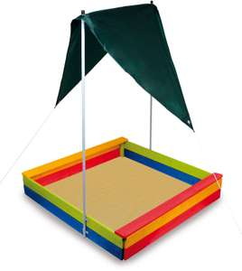 Legler Small Foot sandbox with awning (no sand included) for £35.59 delivered @ eBay / deusbellumltd