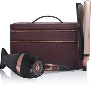 ghd Platinum+ straighteners & Air Hair Dryer deluxe limited edition gift set £195.99 at Amazon