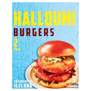 Halloumi burgers 2 pack - £1.50 instore @ Iceland, Batley