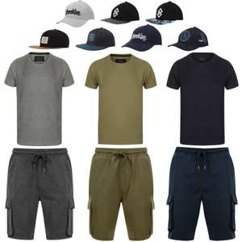 Mens Jogger Shorts + T-Shirt + Cap for £21.99 Delivered @ Tokyo Laundry