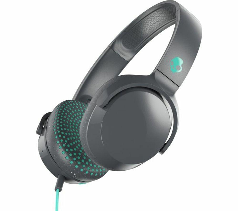 SKULLCANDY Riff S5PXY-L637 Headphones - Grey - £19.99 / £15.99 With Cashback @ Currys PC World