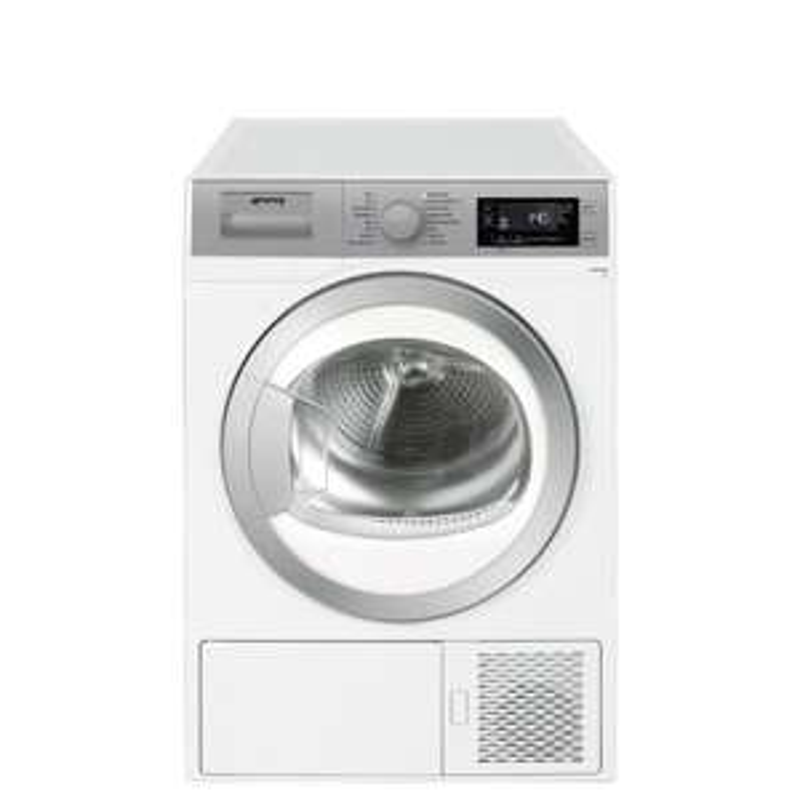 Smeg DHT81LUK White 8KG Heat Pump Condenser Tumble Dryer + Claim a 5 Year Warranty - £349.99 Delivered @ Crampton & Moore