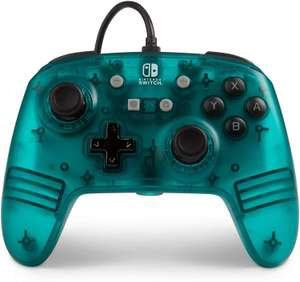 PowerA Nintendo Switch Wired Controller Teal Frost - £14.99 at Amazon (+£4.49 non prime)