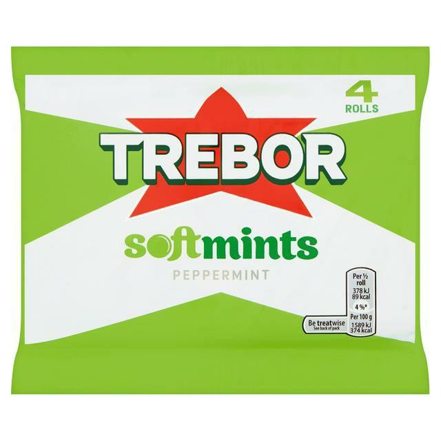 Trebor Softmints Peppermint Pack of 4 - 76p @ Amazon (+£4.49 non-prime)