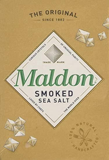Organic Maldon Smoked Sea Salt 12 x 125 g £1.75 Prime / £6.24 Non Prime @ Amazon