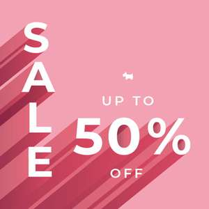 Radley - Up to Half Price Sale plus Code for £15 off £100 Spend