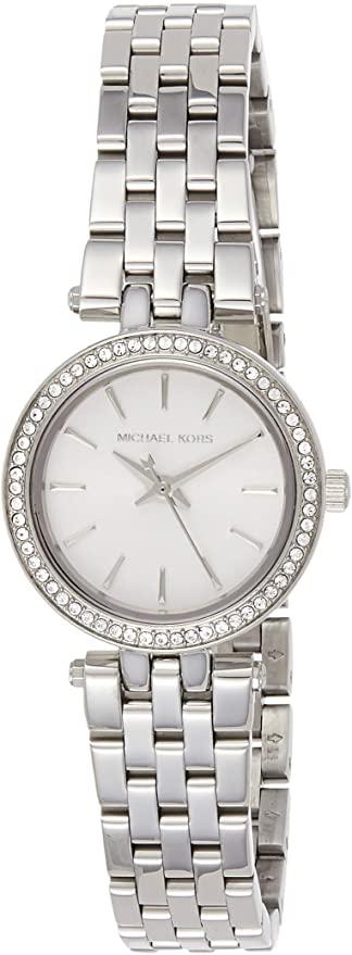 Michael Kors Watches Petite Darcy Three Hand Stainless Steel Watch £99 @ Amazon