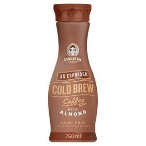 Califia Farms Cold Brew Coffee with Almond Milk 750ml 49p @ Heron Foods (Wolverhampton)