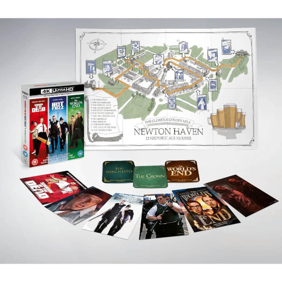 The World's End Boxset - Cornetto Trilogy 4K Ultra HD - £29.99 @ Zavvi