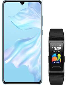 100GB Data With Free Band 4 Pro + Black Huawei P30 Smartphone 128GB - £27.50 Per Month No Upfront Fee x 24m - £660 Total Cost @ Virgin